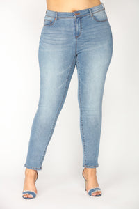 Behamy Ankle Jeans - Medium Wash