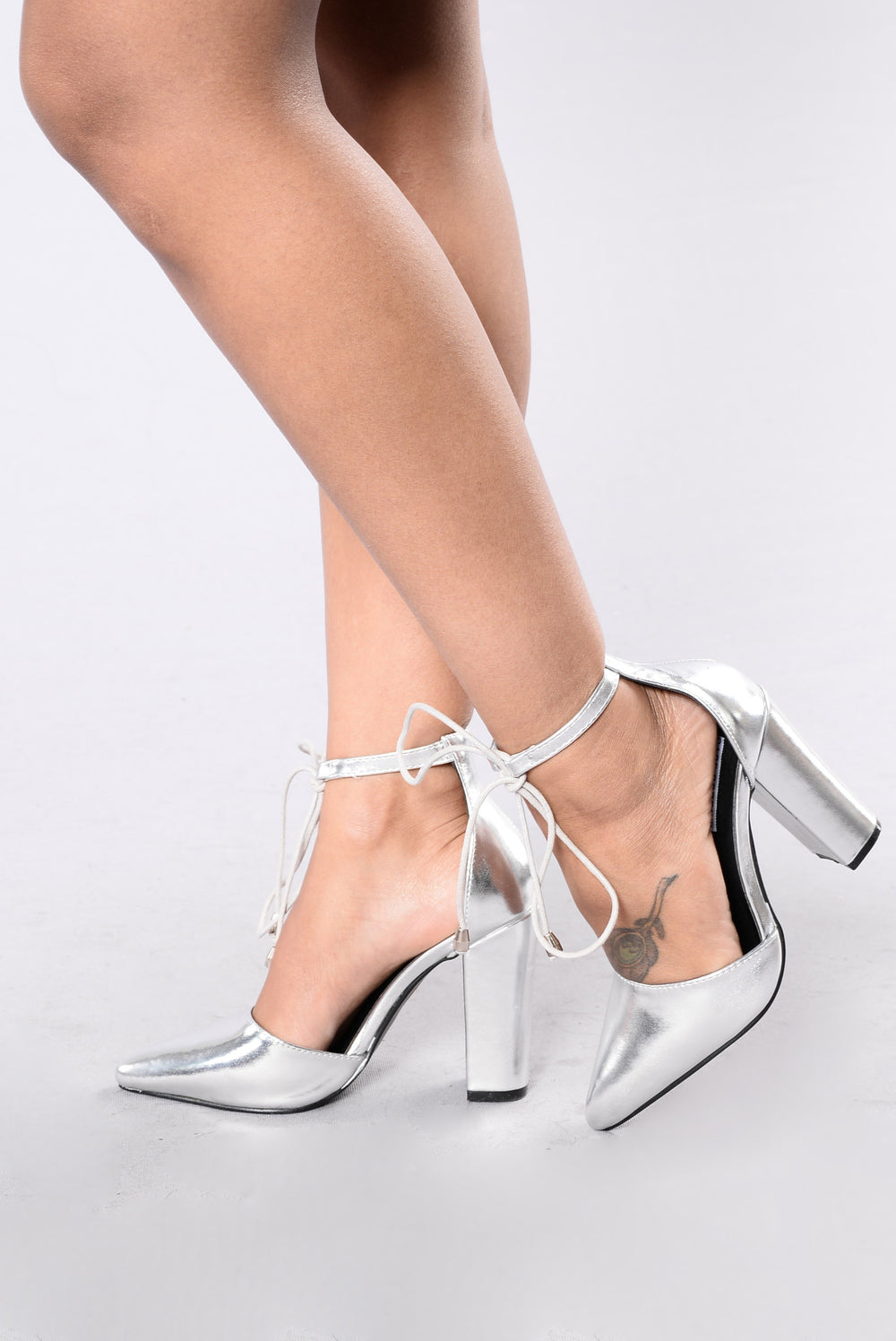 Higher Grounds Heel - Silver