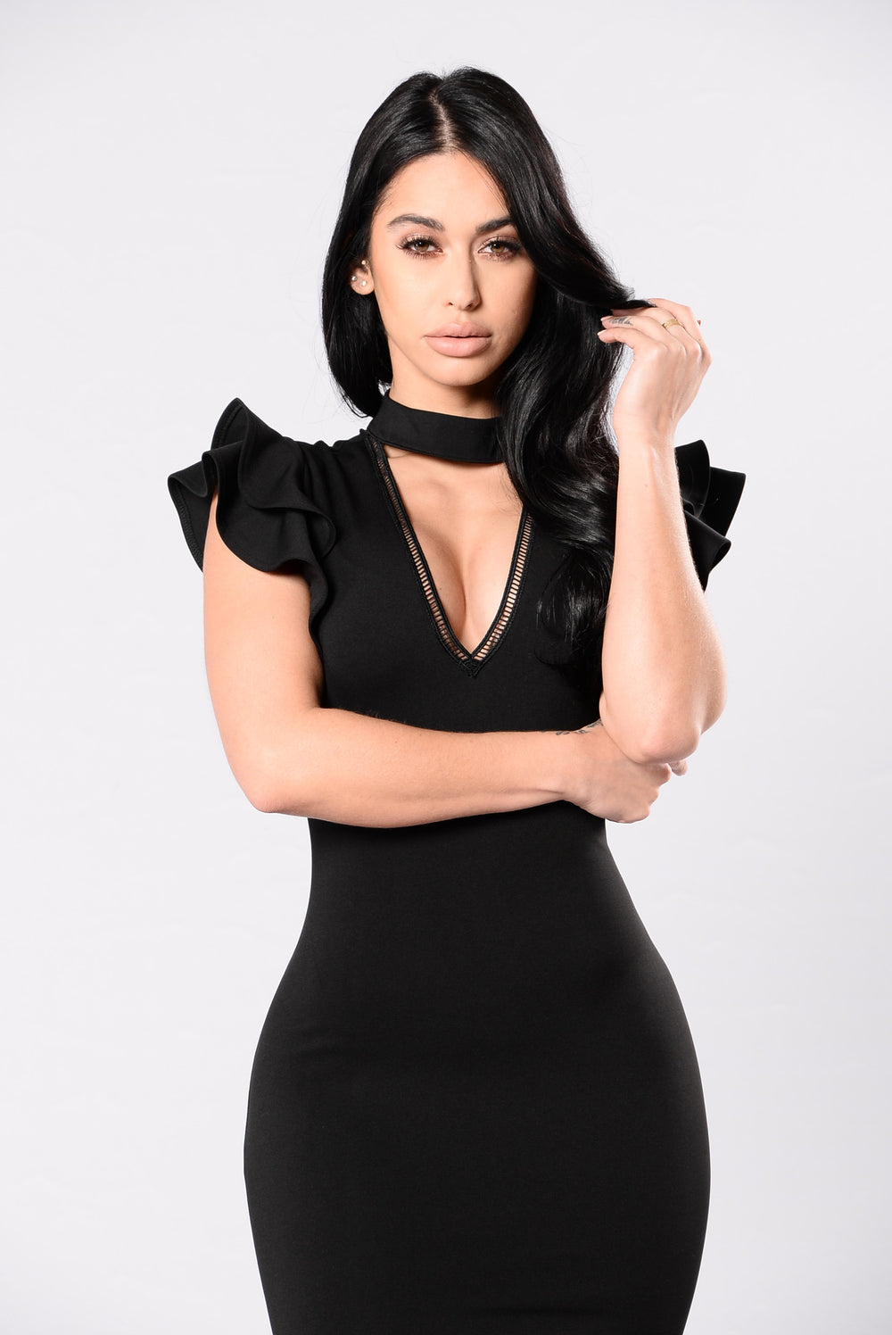 Some Call It Sophistication Dress - Black
