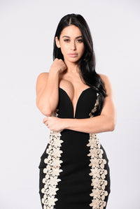 Sweet Emotion Dress - Black