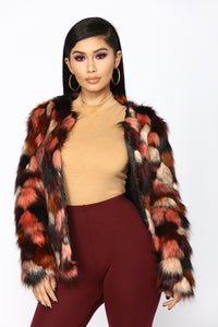 Fur The Better Jacket - Multi Angle 2