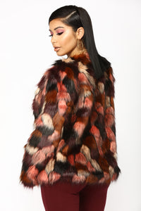 Fur The Better Jacket - Multi Angle 3