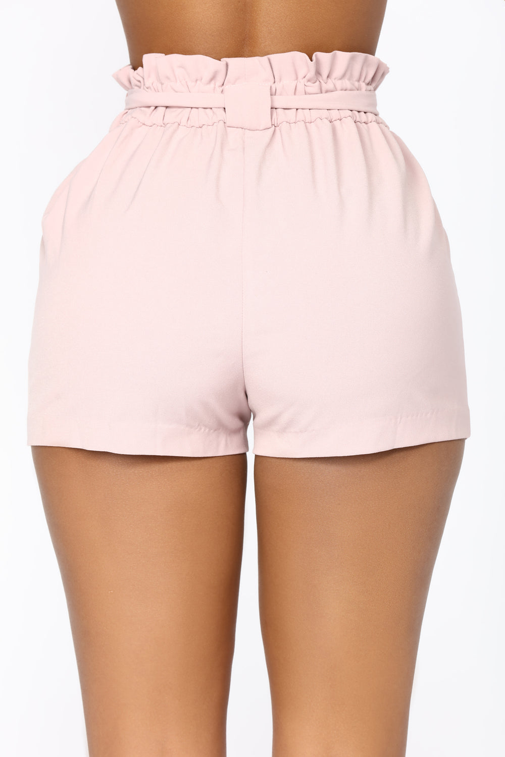 Jessie High Waisted Shorts - Pink