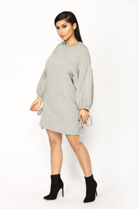 Up Up And Away Tunic - Heather Grey