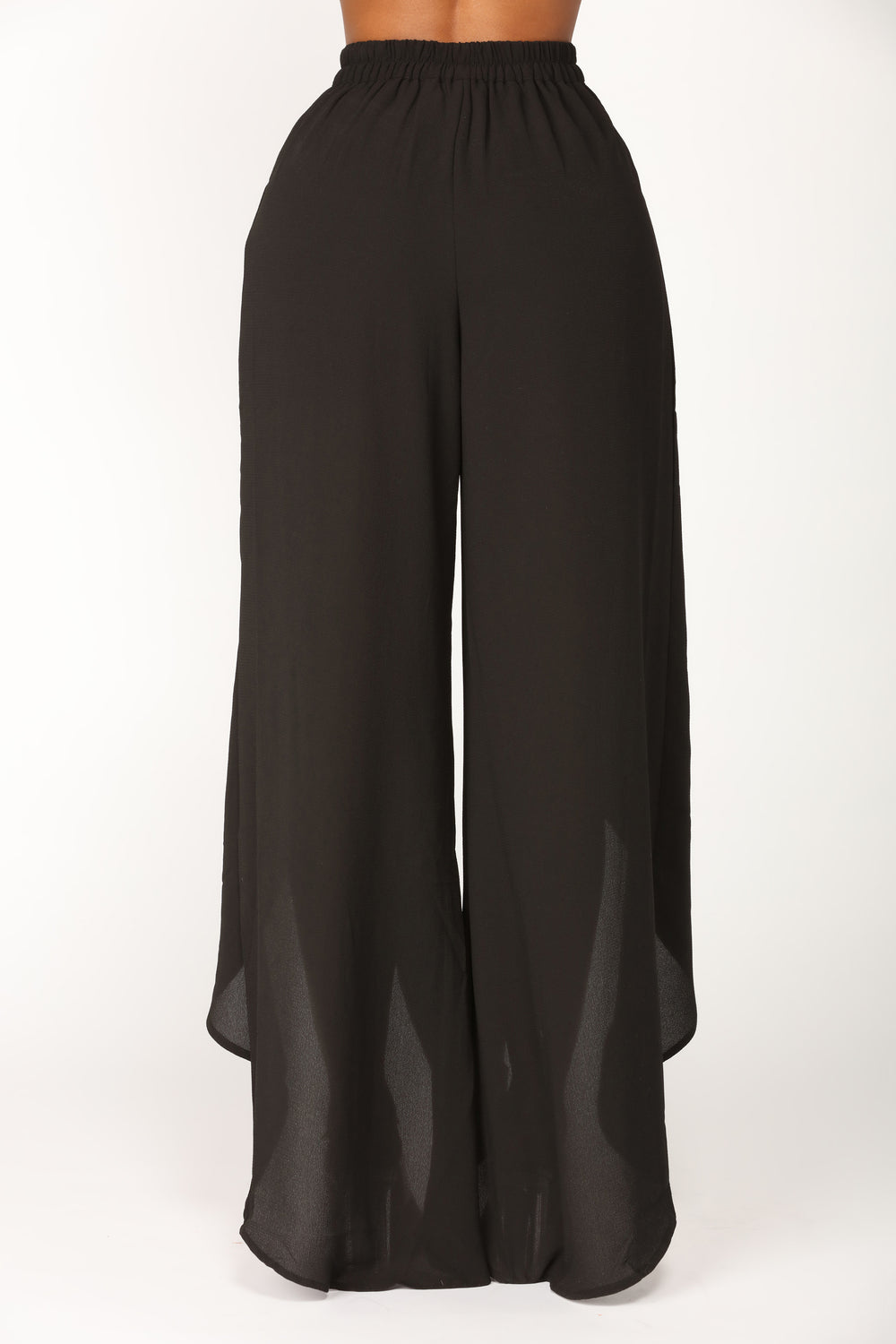 Mind Games Slit Pants - Black