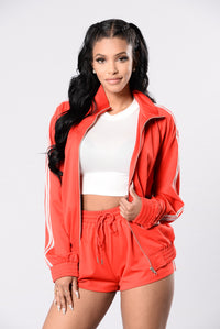 Roller Girl Jacket - Red