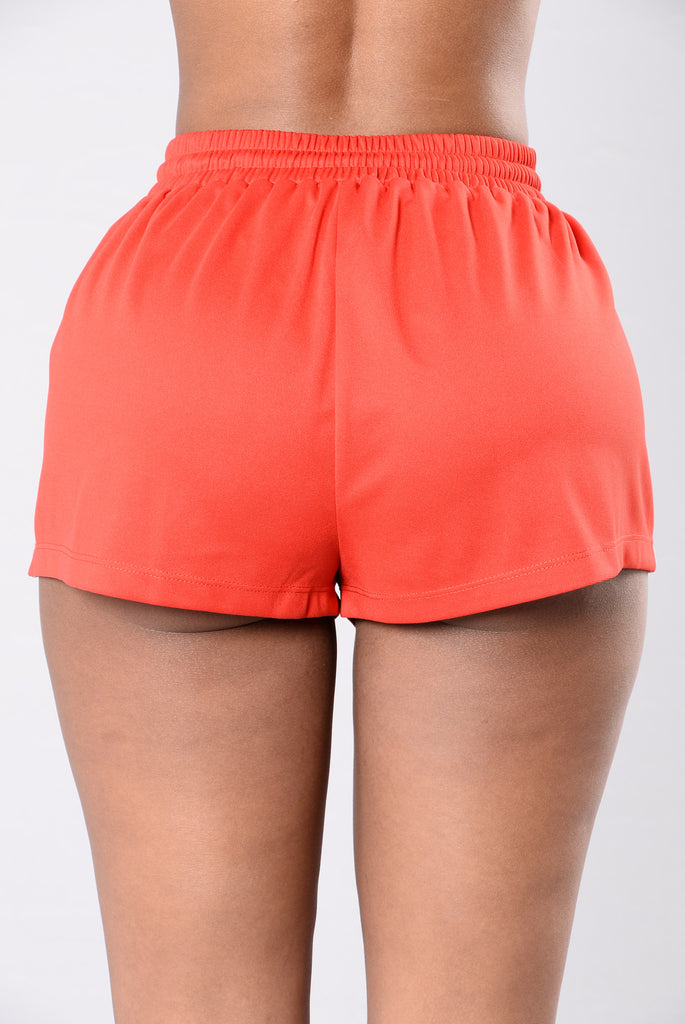 Roller Girl Shorts - Red