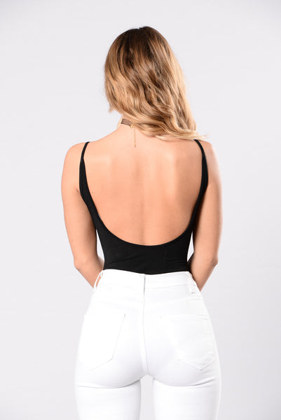 Keep It Simple Bodysuit - Black