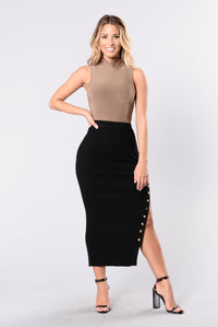 Do It Right Skirt - Black Angle 6