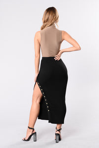 Do It Right Skirt - Black Angle 5