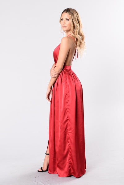 Feel Some Type Of Way Dress - Red