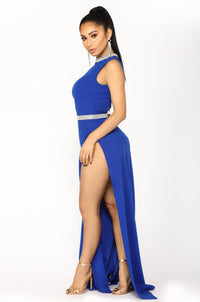 Harper Maxi Dress - Royal