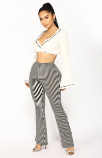 Worthwhile Crop Top - Ivory
