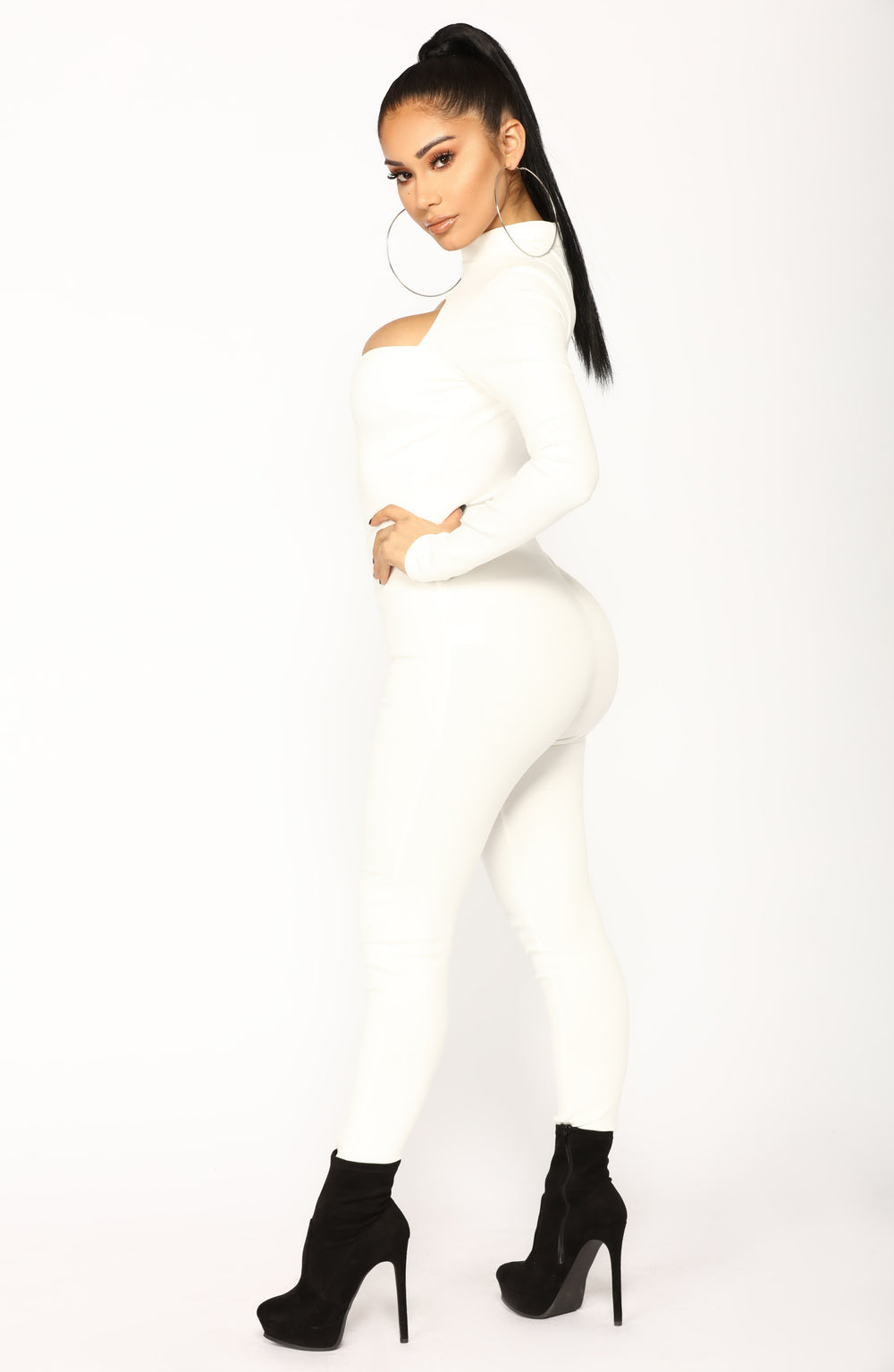 Dave Jumpsuit - Ivory