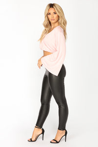Take Me Home Leggings - Black