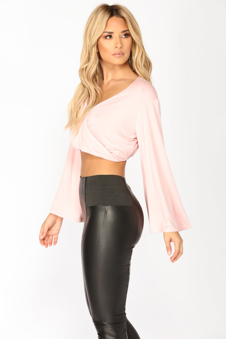 Maritta Crop Top - Pink