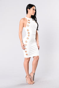 Dose Of Exposed Dress - Ivory