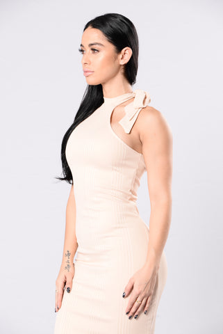 Class With A Side Of Sass Dress - Cream