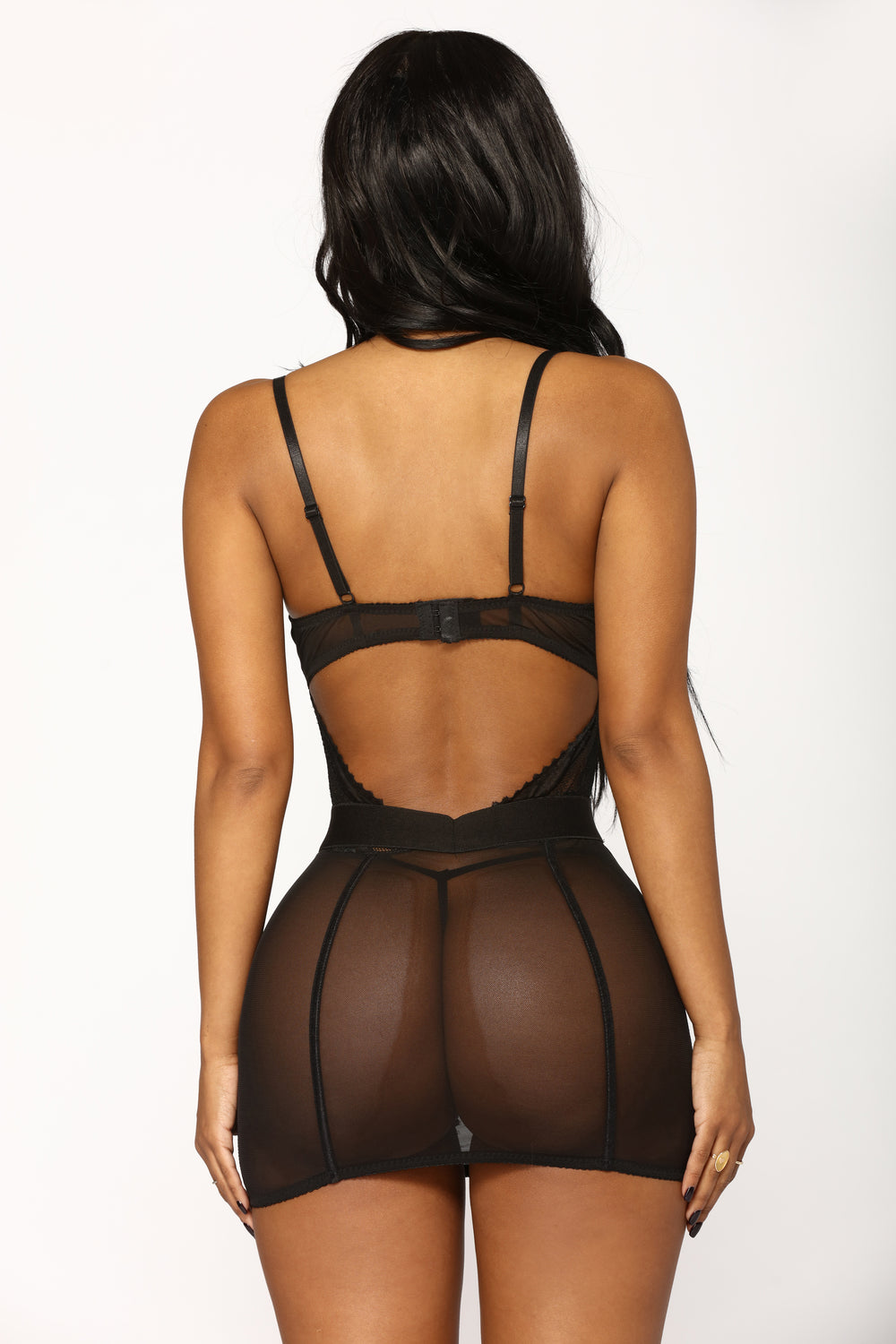 Some Type Of Way Chemise - Black