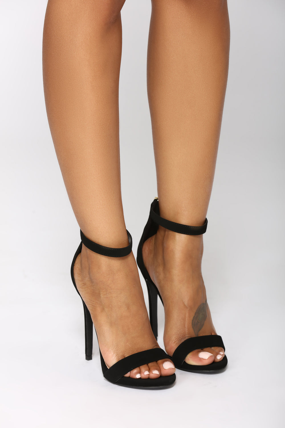 Nancy Fancy Heel - Black