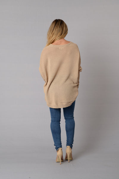 Miracle Mile Sweater - Mocha