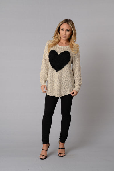 Warm and Fuzzy Love Sweater