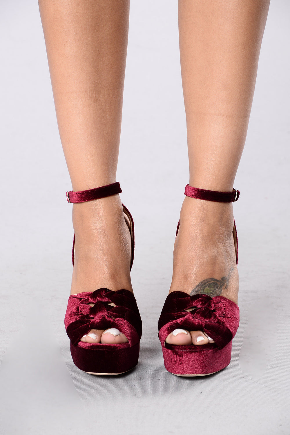 Twisted Night Heel - Wine