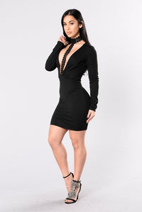 Night Dreamer Dress - Black