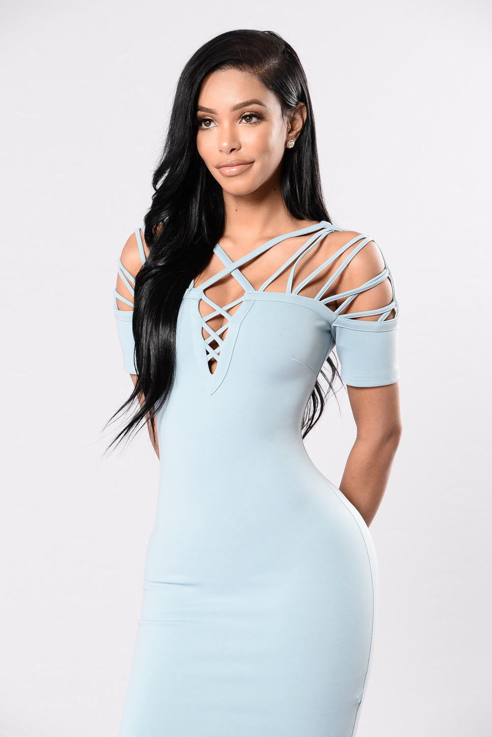Trophy Girl Dress - Sage