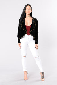 Going Out Of The Way Jacket - Black Angle 4