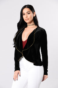 Going Out Of The Way Jacket - Black Angle 3