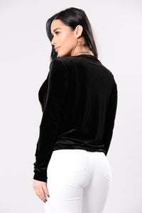 Going Out Of The Way Jacket - Black Angle 2