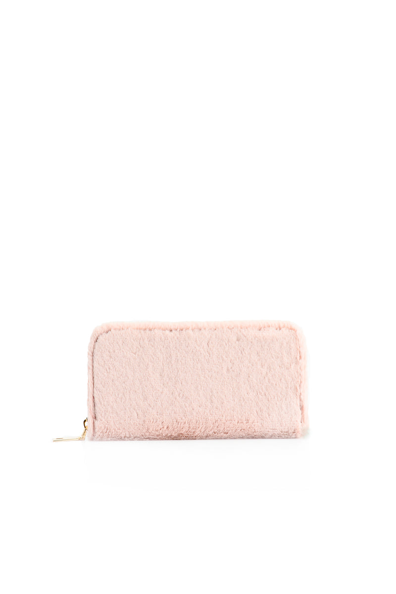 Soft To The Touch Wallet - Pink