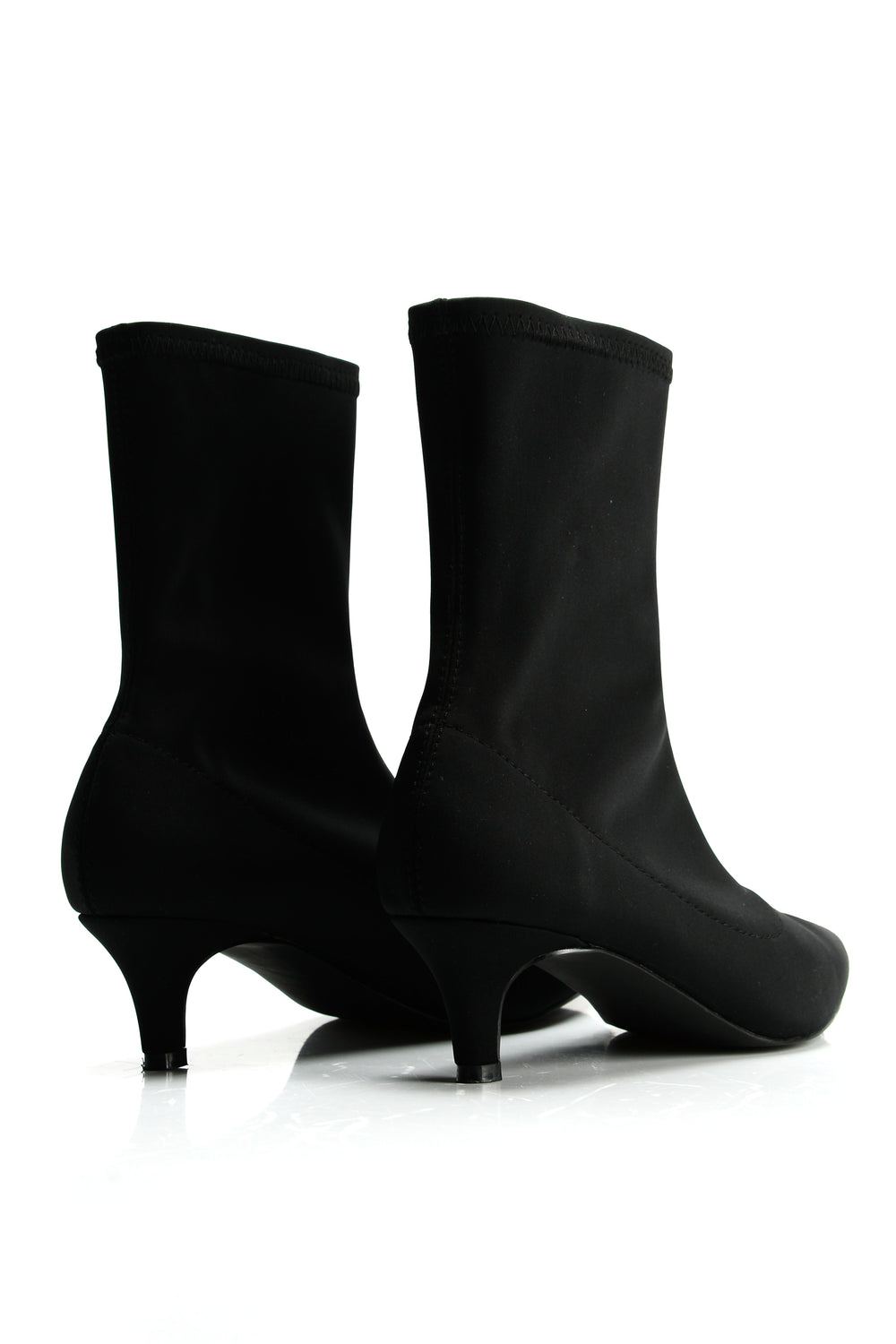 Stay In Your Lane Booties - Black
