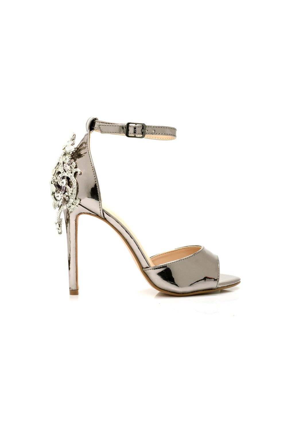 Who Do You Love Heels - Pewter