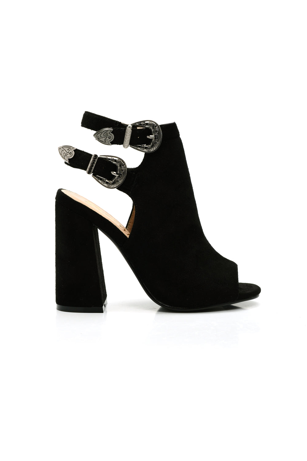 Be Better Buckle Bootie - Black