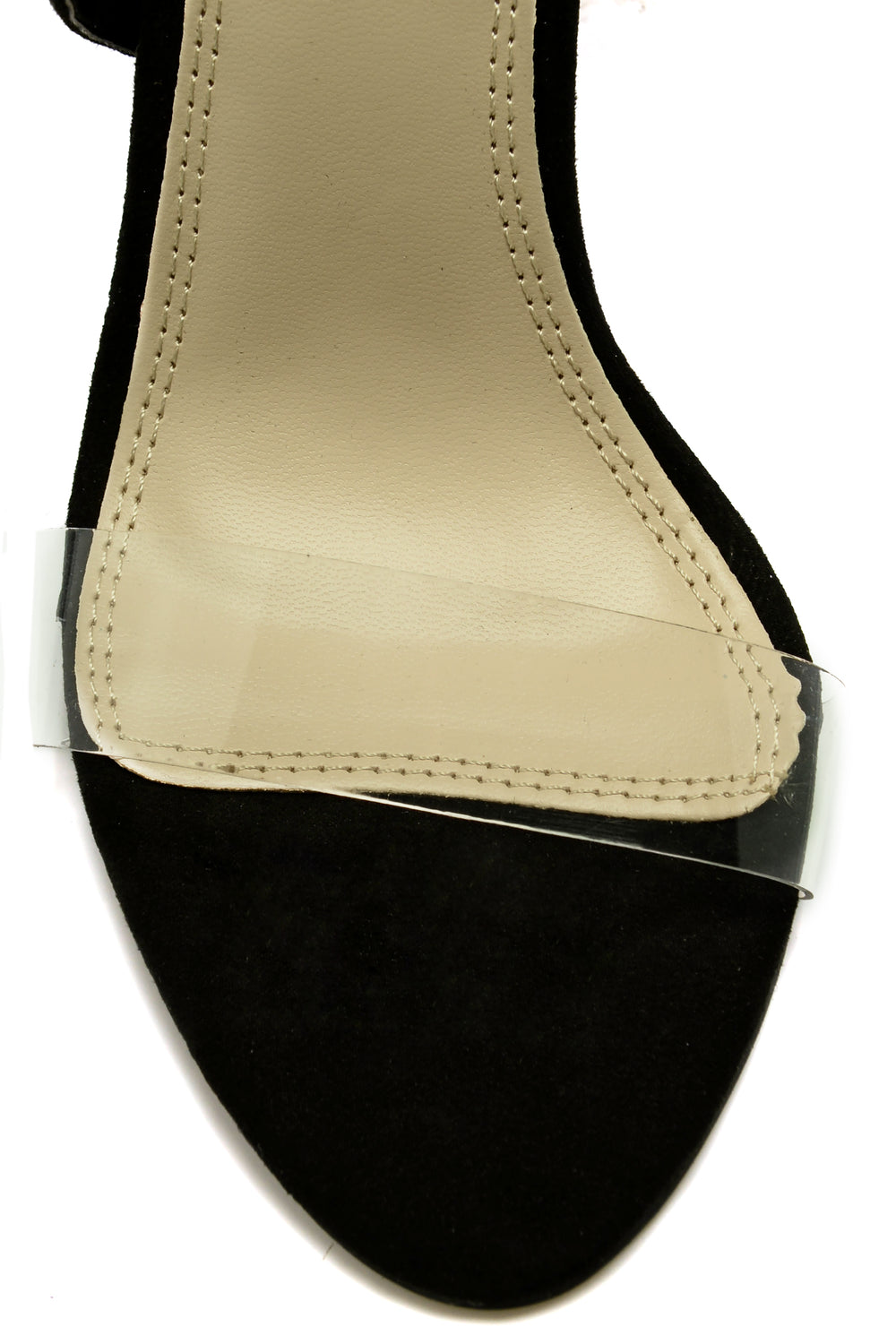 On The Low Heel - Black