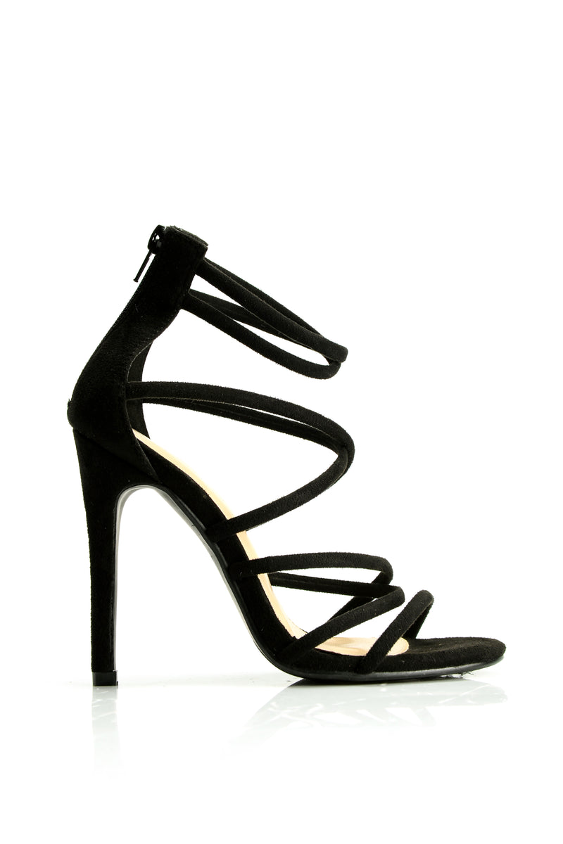 Roll The Dice Heel - Black