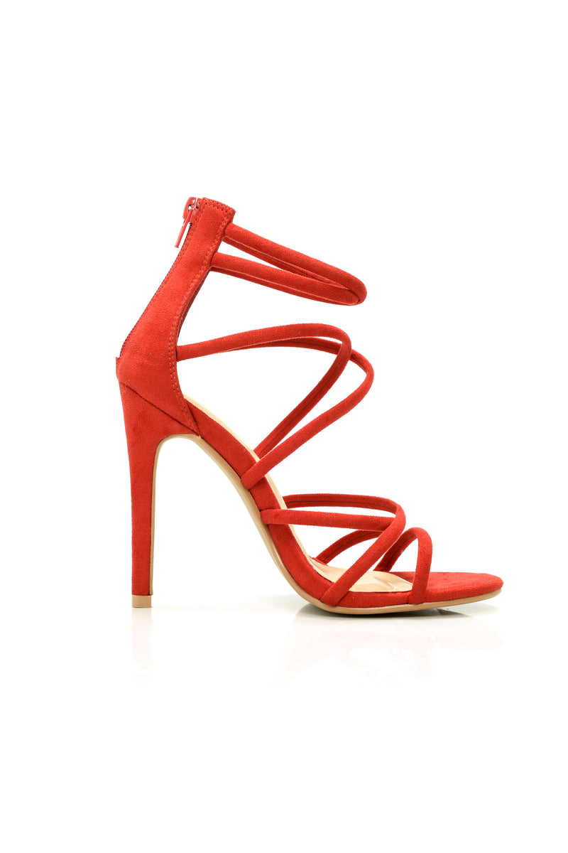 Roll The Dice Heel - Red