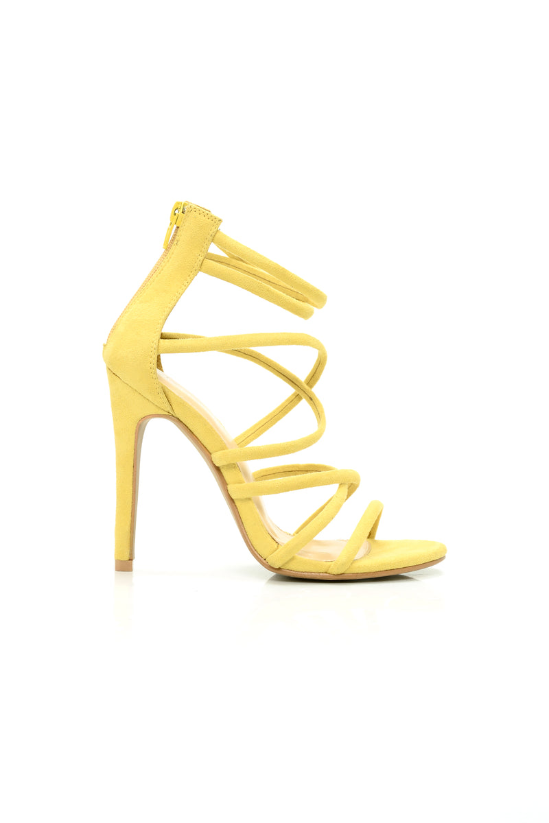 Roll The Dice Heel - Yellow