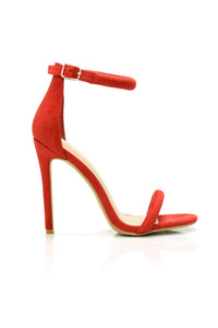 Make You A Believer Heel - Red