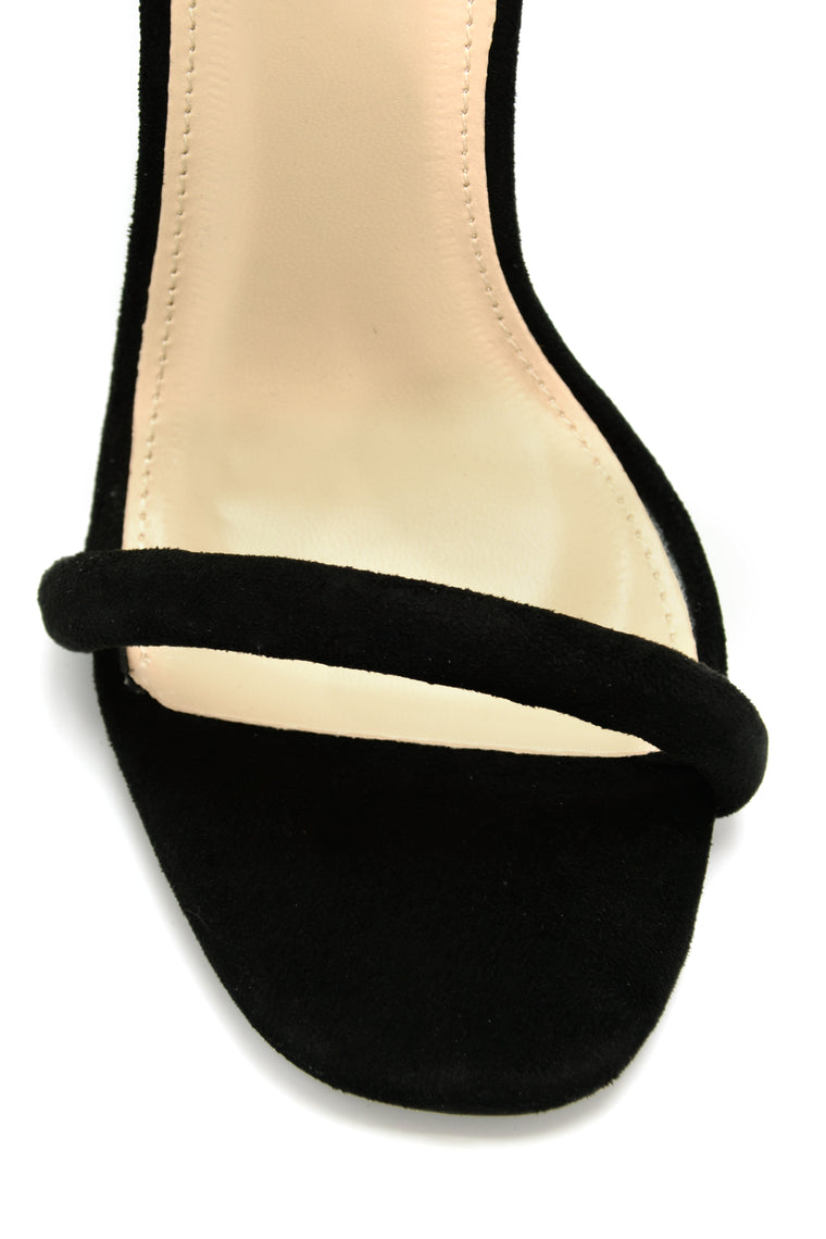 Make You A Believer Heel - Black