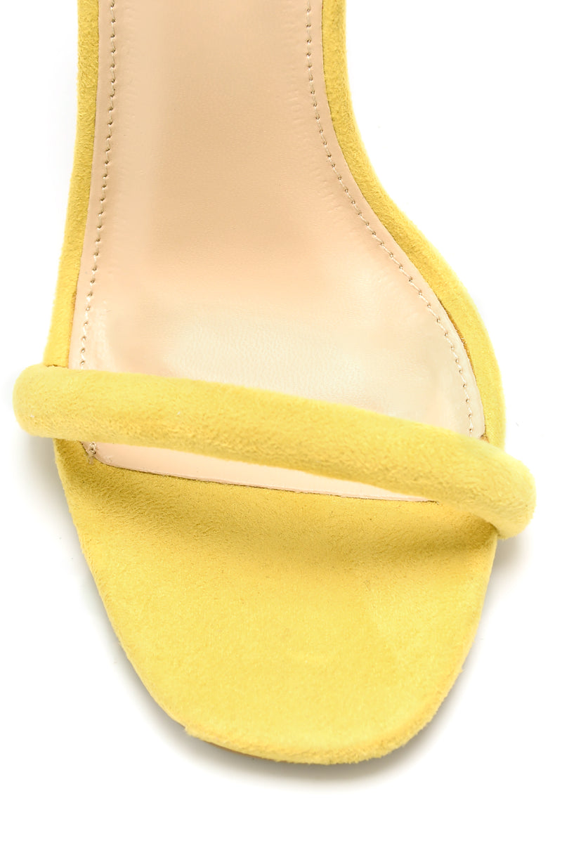 Make You A Believer Heel - Yellow