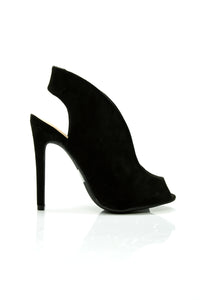 Take A Stand Bootie - Black