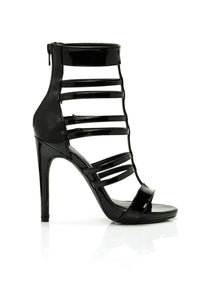 Strappy Situation Heel - Black