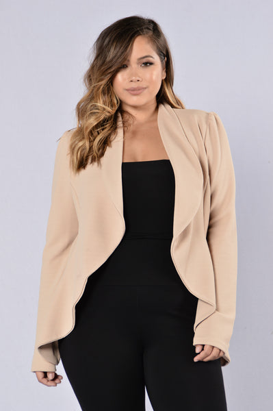 Meet & Greet Blazer - Khaki