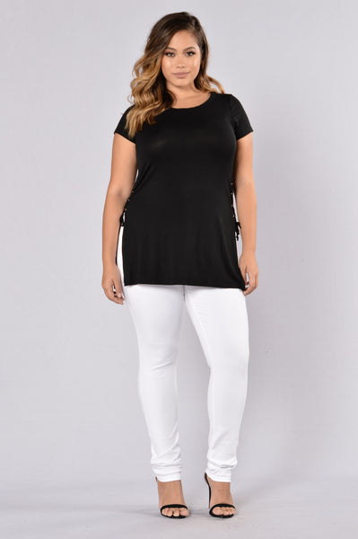 Need Some Interest Top - Black