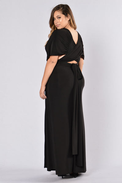Apple Of His Eye Dress - Black