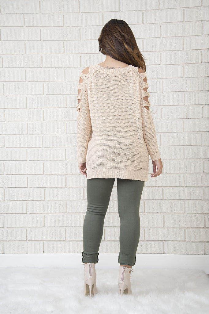 Zone Sweater - Beige