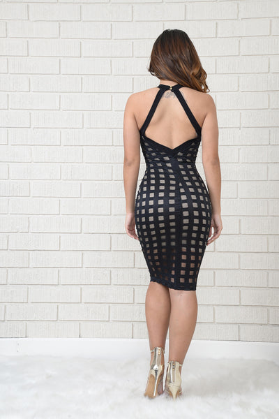 Brickhouse Dress - Black
